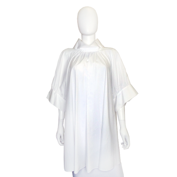 The Row | White Cotton Tunic