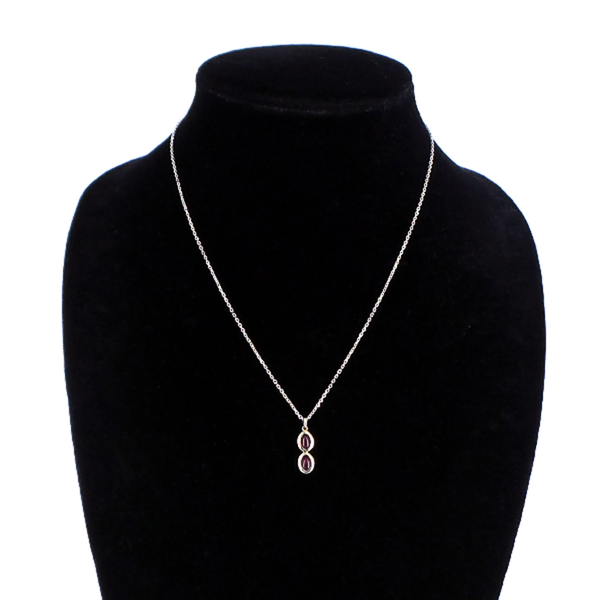 14K Natural Ruby Necklace
