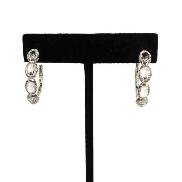 Ippolita | Clear Quartz Hoop Earrings