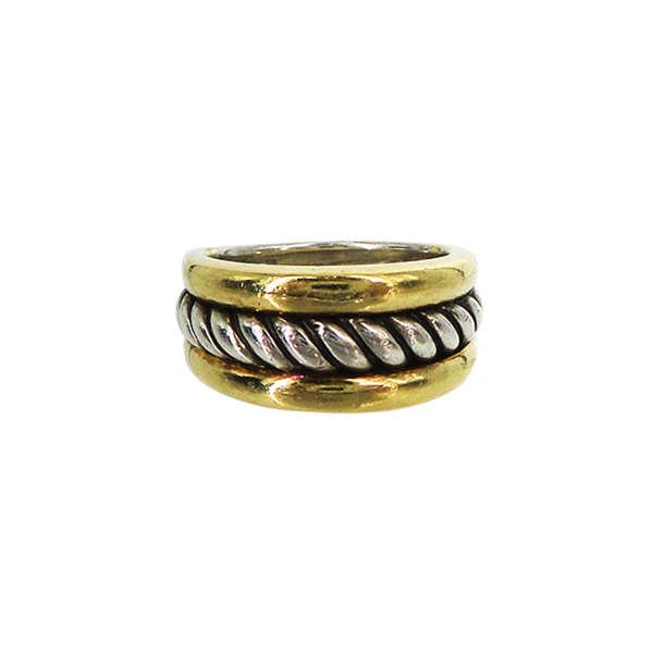 David Yurman | Two-Tone Cable Ring