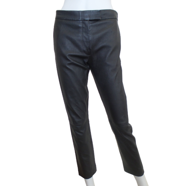 Joseph | Black Leather Pants