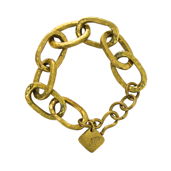 Ashley Pittman | Brass Link Bracelet