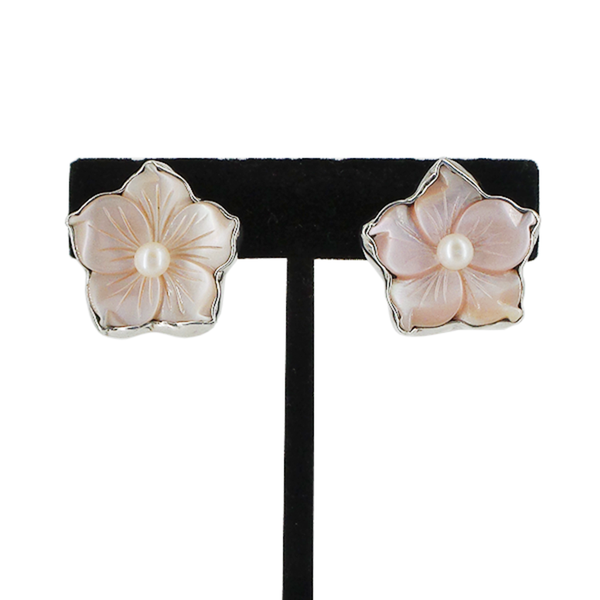 Amy Kahn Russell | Flower Clip-On Earrings