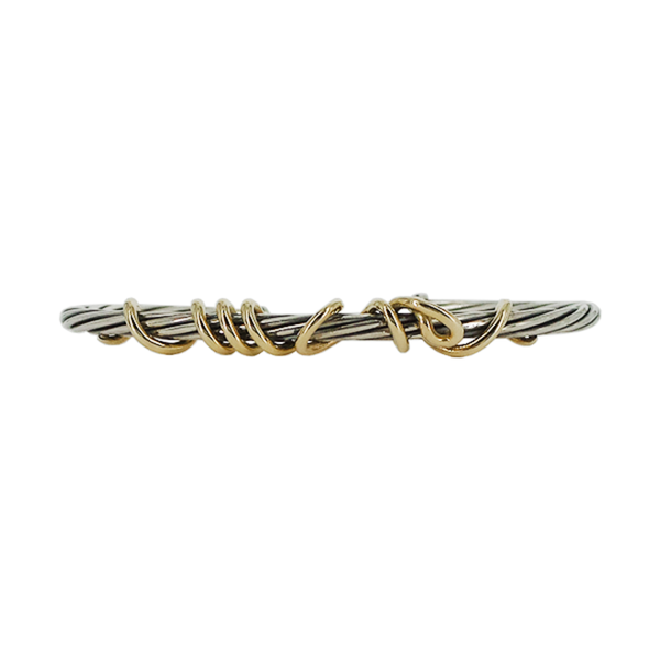 David Yurman | Two-Tone Cable Cuff