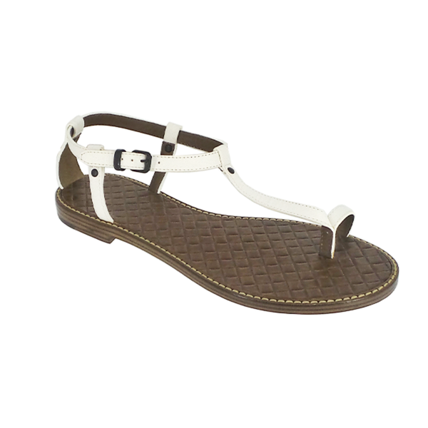 Bottega Veneta | Intrecciato White Sandals