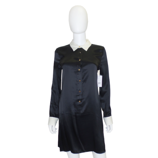 Equipment | Black Clean Lucida Dress
