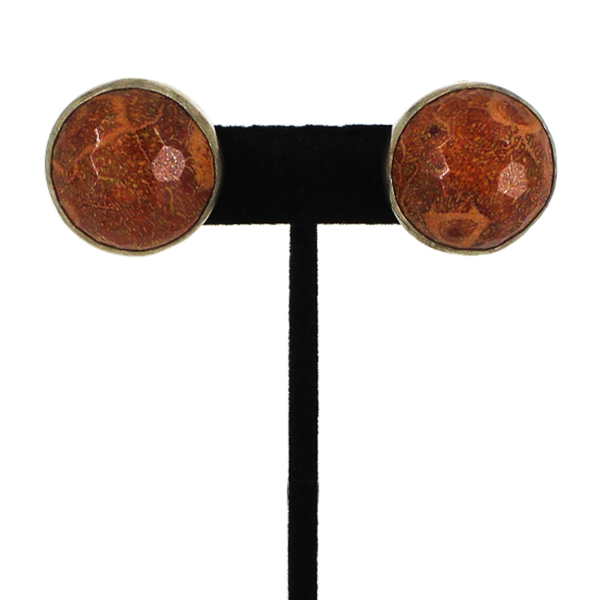 Rebecca Collins | Stone Clip Earrings
