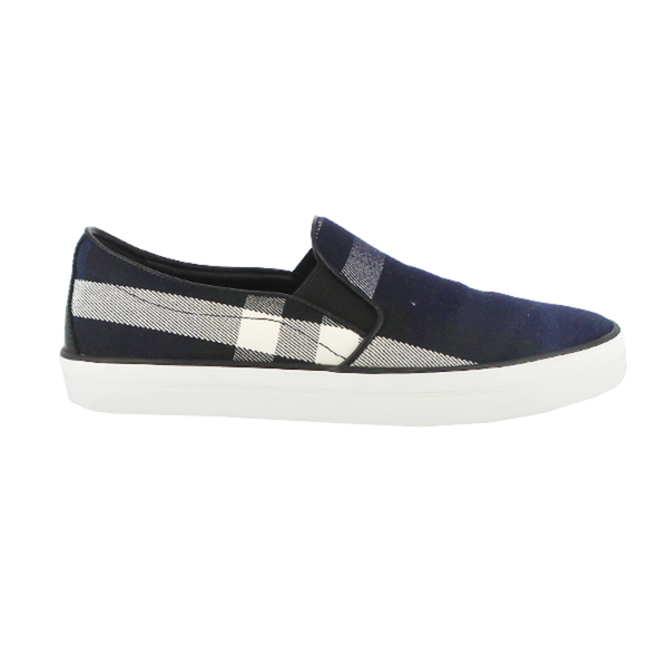 Burberry | Check Print Slip-On Sneakers