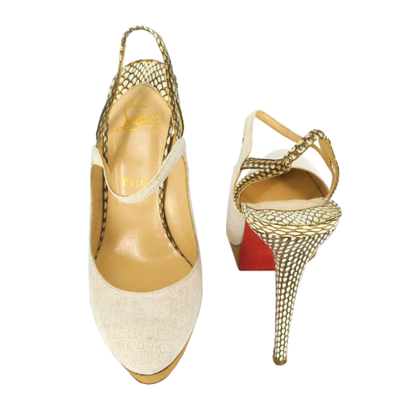 Christian Louboutin | Fine Bretelle Pumps