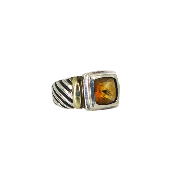David Yurman | Citrine Cable Ring