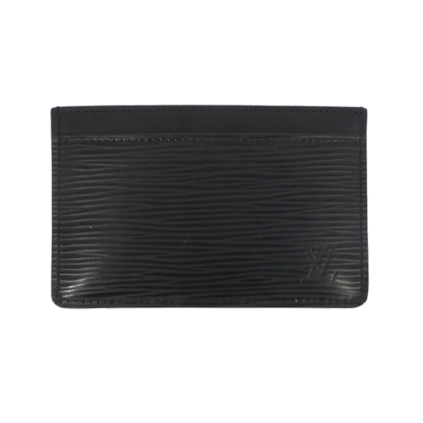 Louis Vuitton | Black Epi Card Holder