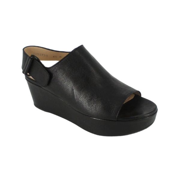 Stuart Weitzman | Black Offset Wedges