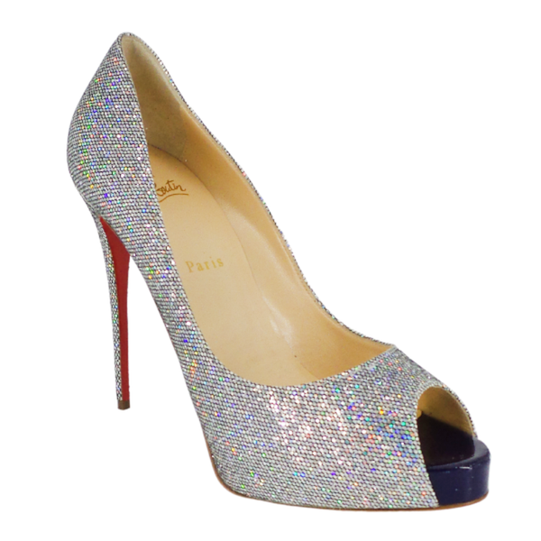 Christian Louboutin | Very Prive Glitter Disco Ball Pumps