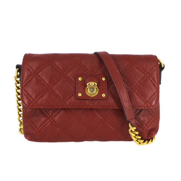 Marc Jacobs | Red Quilted Leather Crossbody