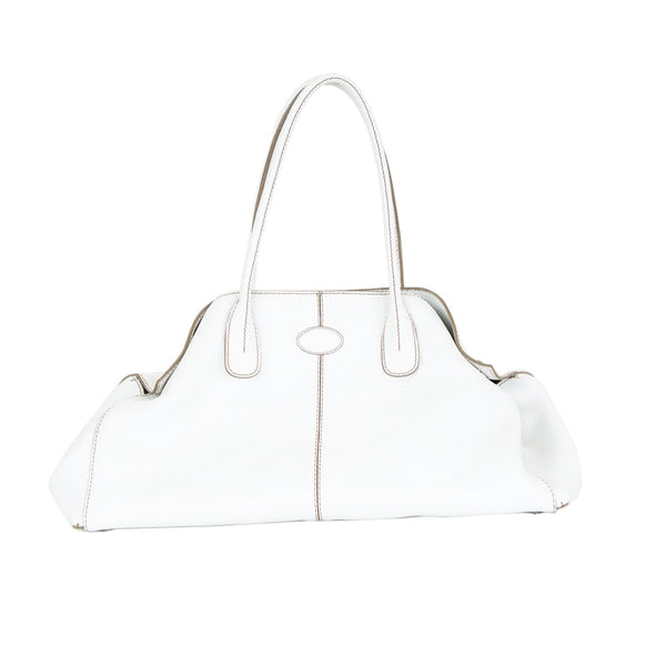 Tod's | White Leather Handbag