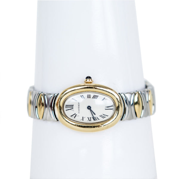 Cartier | Baignoire 18K Gold Watch