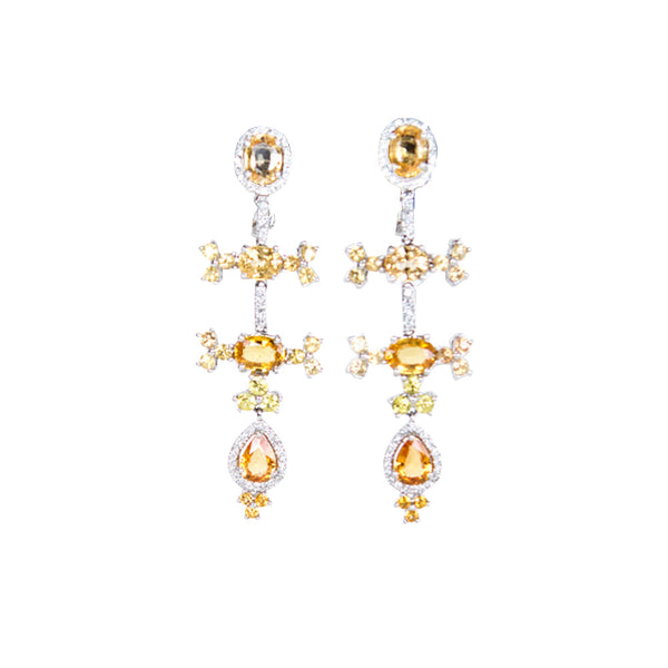 Cook Diamonds | 18K White Gold Chandelier Earrings