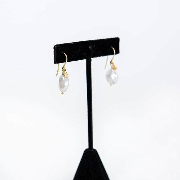 Tous | Gold and Pearl Earrings