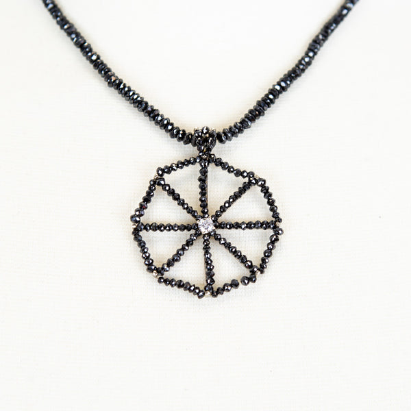Matthew Trent | Black Diamond Necklace