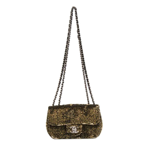Chanel | Sequin Mini Flap Bag