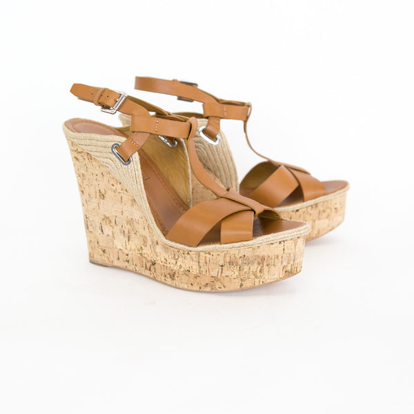 Ralph Lauren Collection | Fimesa Platform Wedges