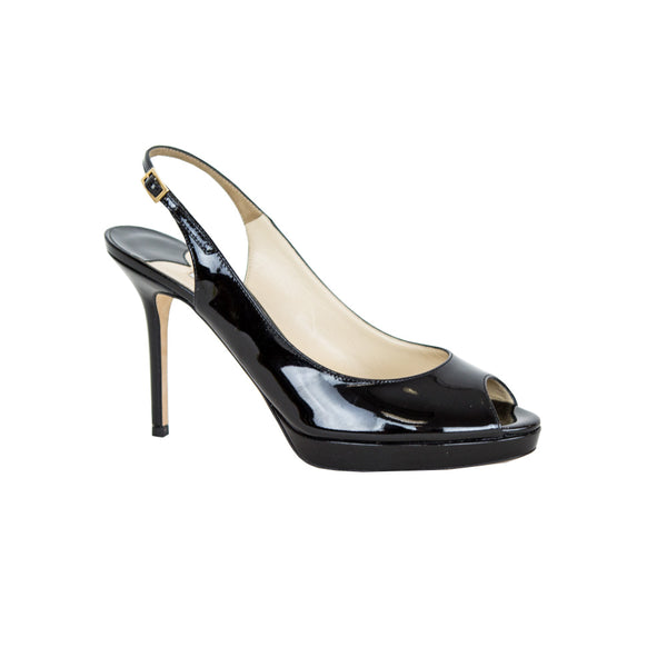 Jimmy Choo | Peep-Toe Slingback Pumps
