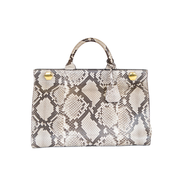 Anya Hindmarch | Ephson Python Top Handle Handbag