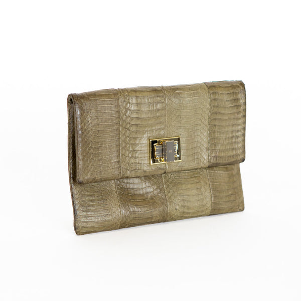 Anya Hindmarch | Valorie Snake Clutch