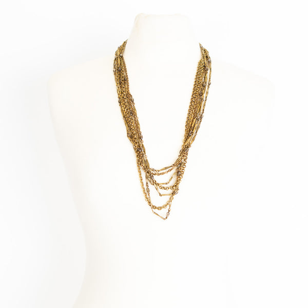 Stephen Dweck | Smokey Quartz Multi-Strand Necklace