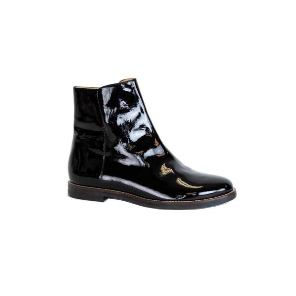 Maison Martin Margiela | Black Patent Leather Booties