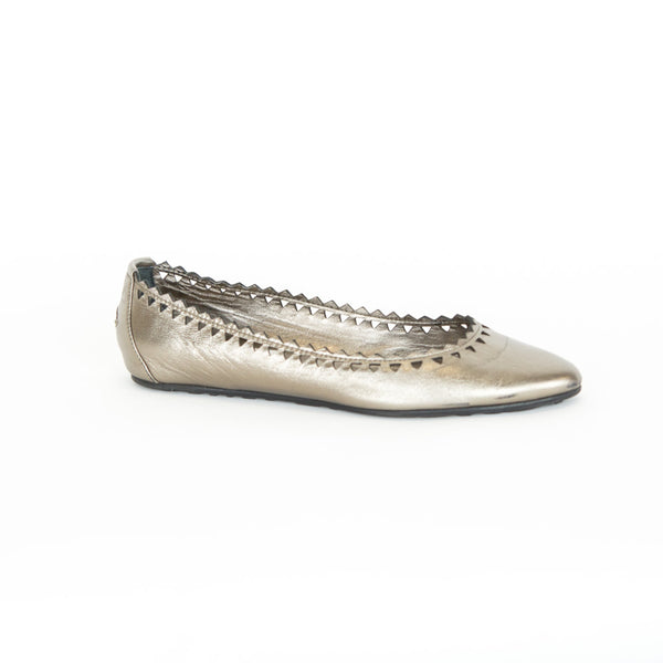 Jimmy Choo | Metallic Flats