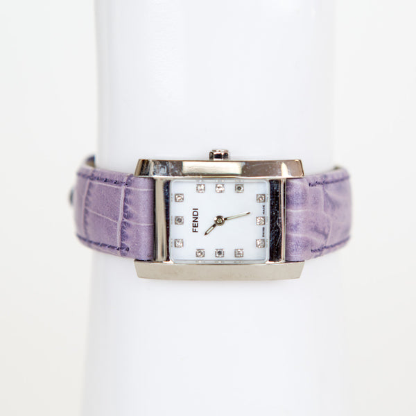 Fendi | Lilac leather Watch