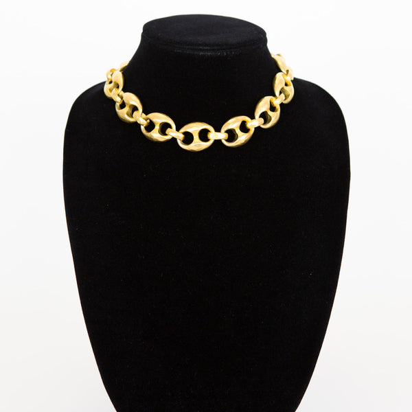 Karl Lagerfeld | Gold Chain Link Necklace