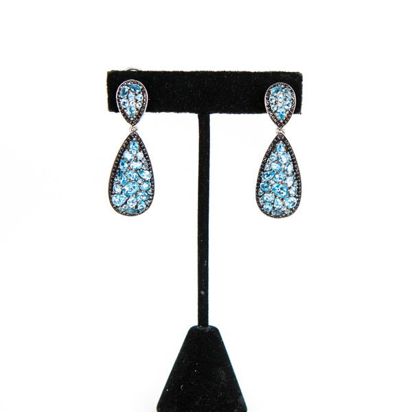Charles Krypell | Roxy Blue Topaz Earrings