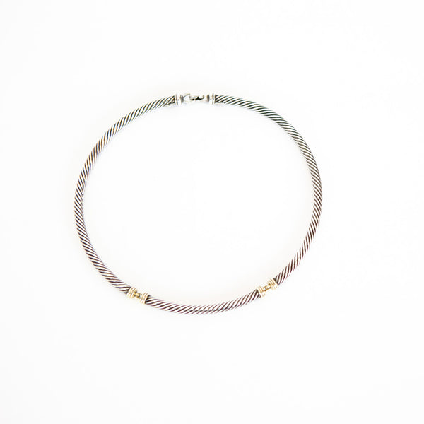 David Yurman | Two-Tone Metro Choker