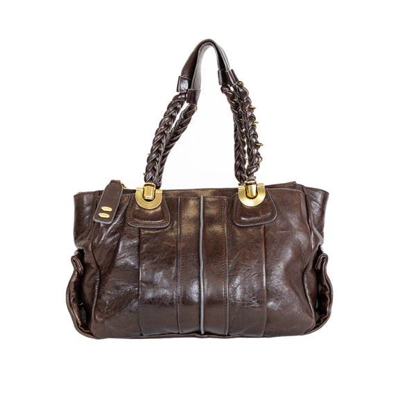 Chloé | Brown Leather Heloise Bag