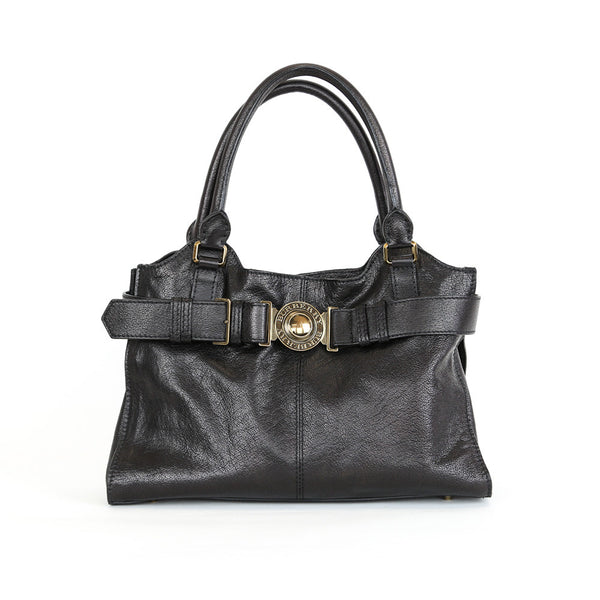Burberry | Black Leather Shoulder Handbag