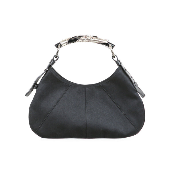 YSL | Black Satin Handbag