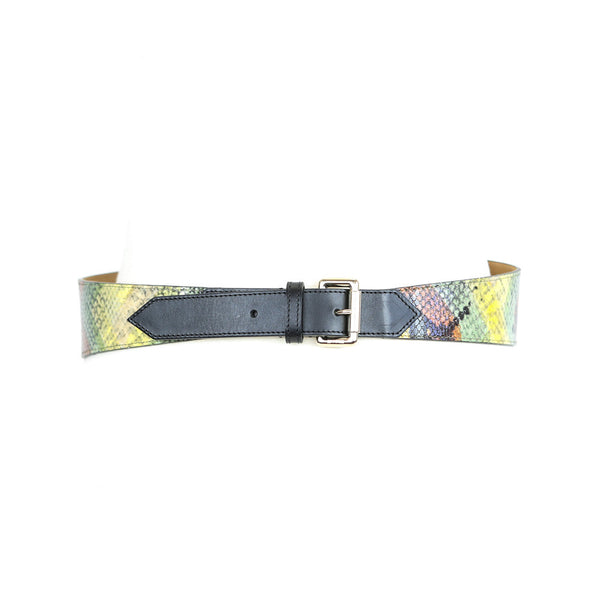 Etro | Embossed Leather Belt