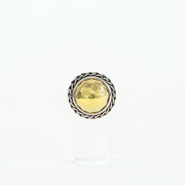 John Hardy | 22k Gold And Sterling Silver Ring