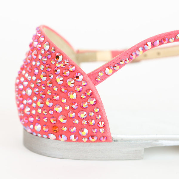 Giuseppe Zanotti | Pink Crystals Embellished Sandals