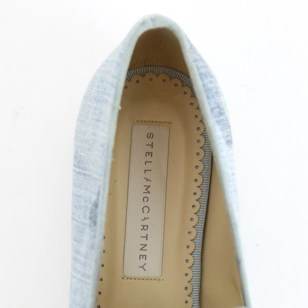 Stella Mccartney | Blue Camouflage Print Loafers