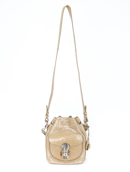 Ralph Lauren | Ricky Python Bucket Bag