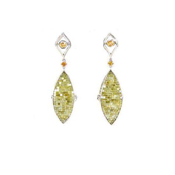 Matthew Trent | Dangling Diamond Earrings