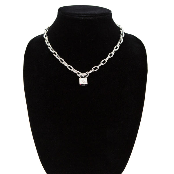 Roberto Coin | Diamond Appassionata Lock Pendant Necklace