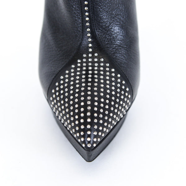 YSl | Studded Leather Booties