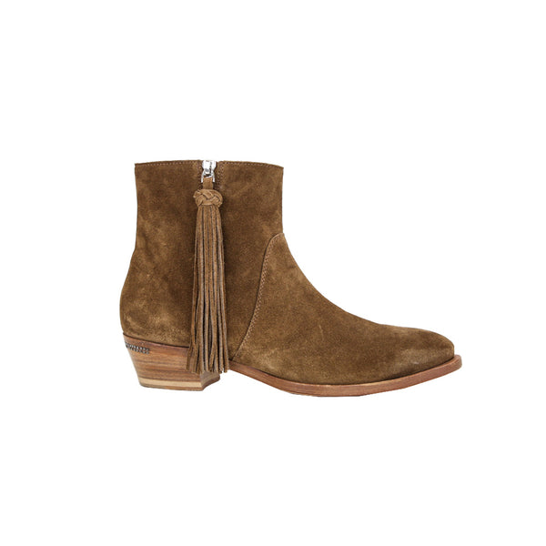 Ralph Lauren | Brown Suede Booties