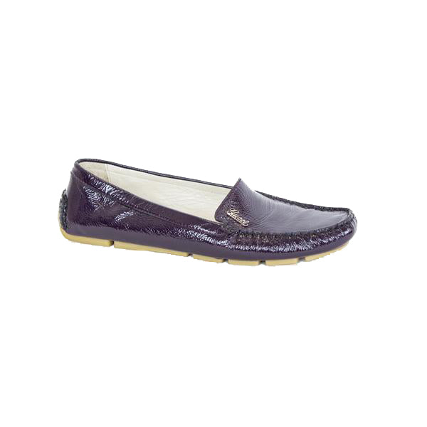 Gucci | Purple Patent Loafers