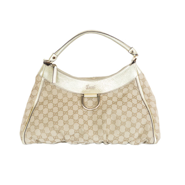Gucci | GG Canvas D Ring Hobo