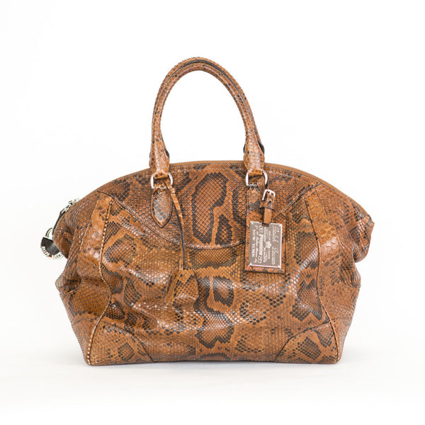 Ralph Lauren Collection | Reptile Leather Handbag
